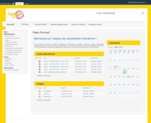 Logica - Extranet (SharePoint & SQL Server)