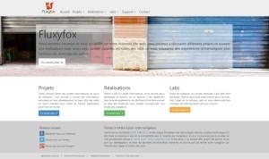 Fluxyfox – Site web (Bootstrap)