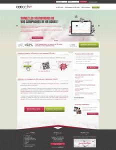 Codactiv - FrontOffice (PHP & MySQL)