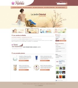 Mahila Bio - E-commerce (Prestashop)