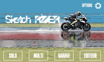 Concours - Sketch Rider (Windows Phone 8)