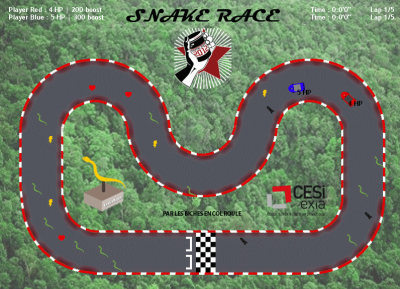 Game Jam 2012 - Snake Race (C# .NET)